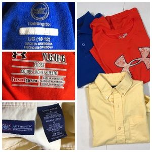 Back to school bundle three items for boys size L